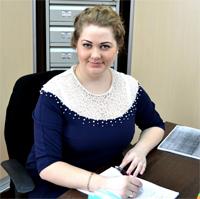 Гайворонская Юлия Владимировна, ведущий специалист по кадрам
