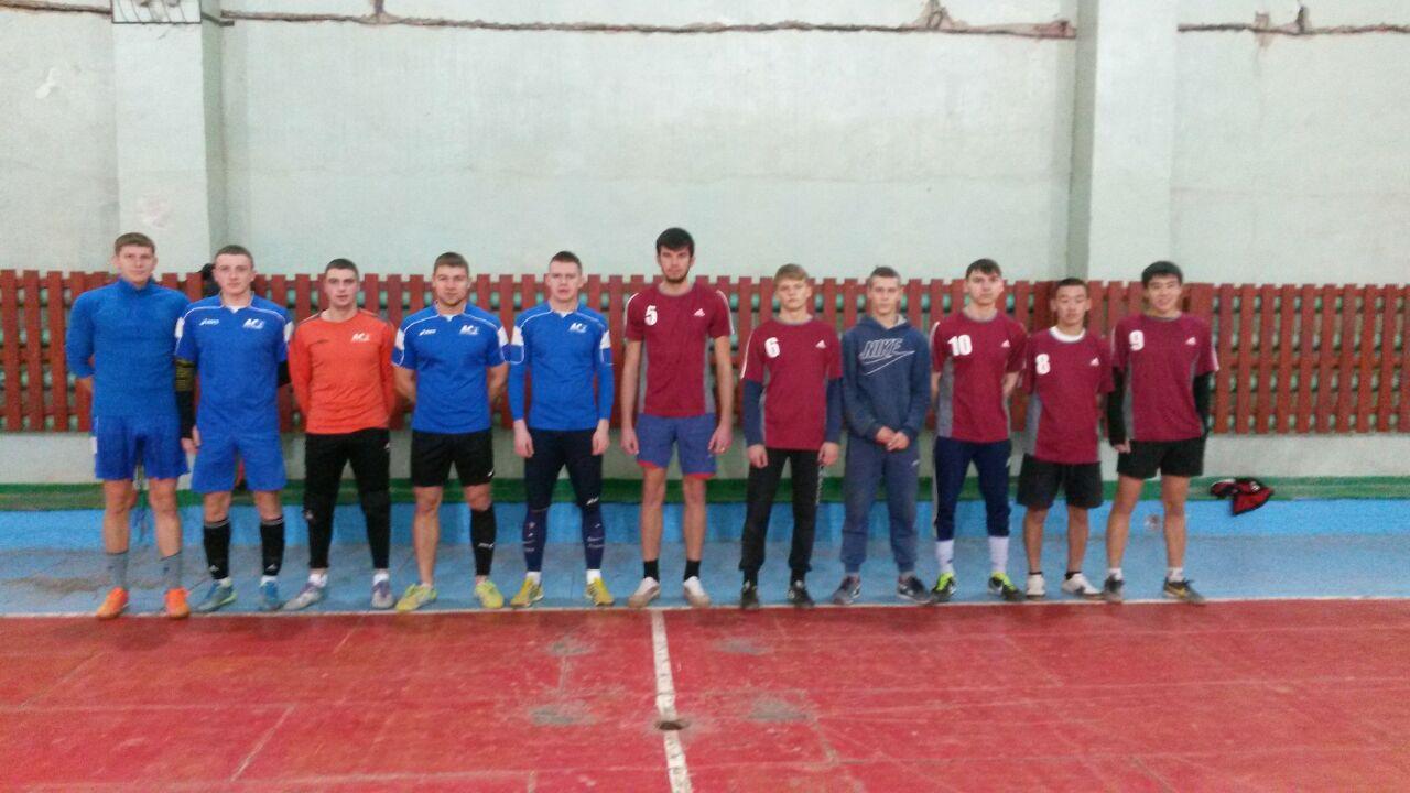 Дружеская встреча по мини-футболу