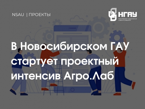 В Новосибирском ГАУ стартует проектный интенсив Агро.Лаб